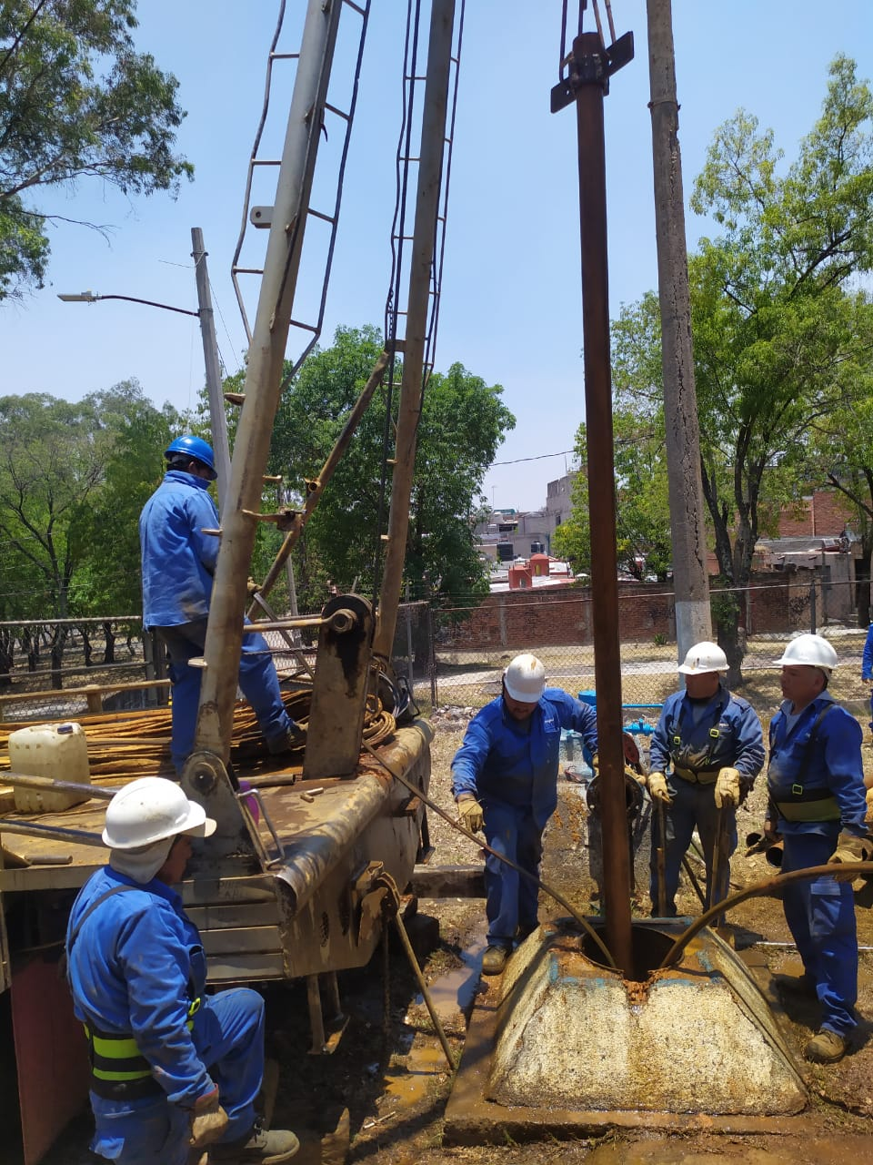 pozo Lomas de Santiaguito