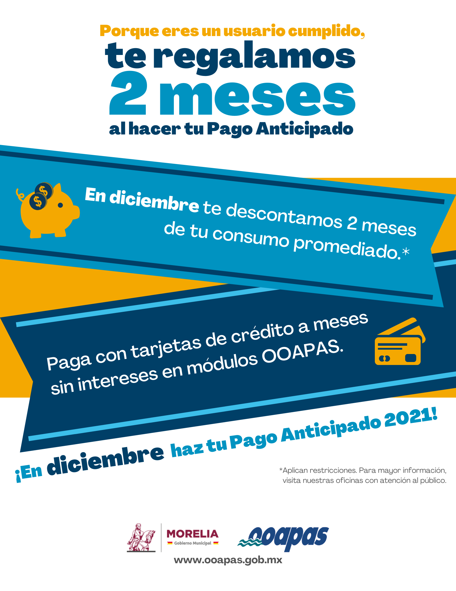 pago anticipado 2021